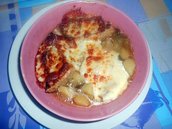 soupe poireaux pommes de terre gratinée 430
