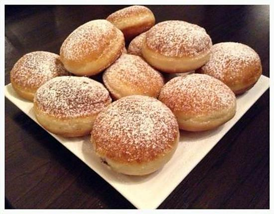 recette de beignet fourr au nutella et confiture sans uf. Black Bedroom Furniture Sets. Home Design Ideas