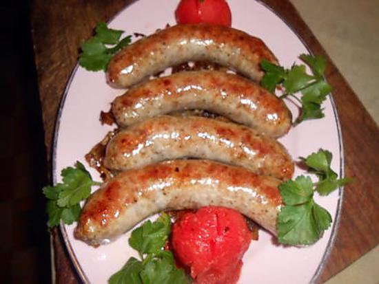 recette Saucisse bretonne aux oignons de roscoff