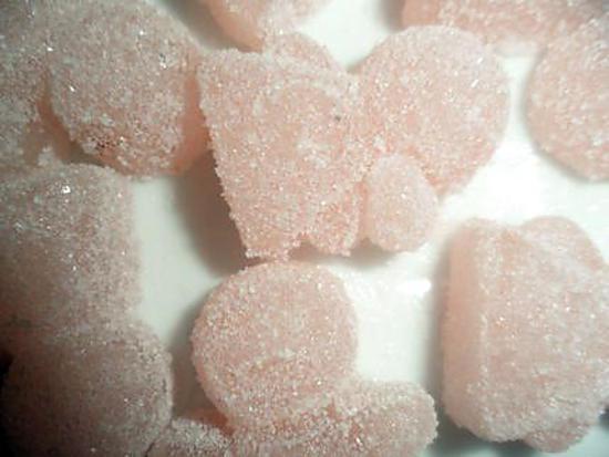 recette L'influence Candy Crush .. Bonbons à la grenadine