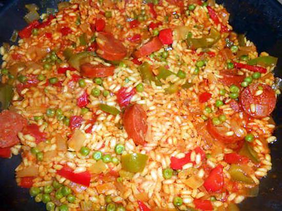 Recette de riz a l espagnole - Recette typique espagnole ...