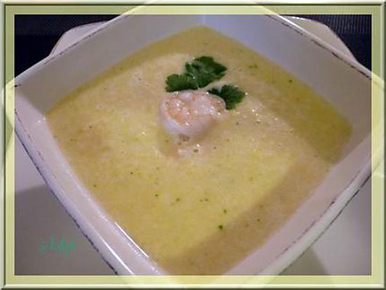 recette Soupe de Maïs au lait de coco