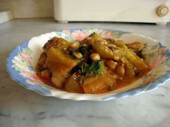 """recette Yamarwicha  """"plat algérois """""""