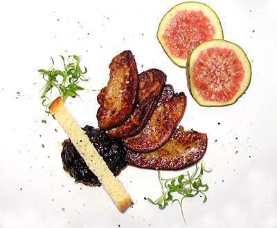 recette de foie gras po l et confiture de figues au vinaigre balsamique. Black Bedroom Furniture Sets. Home Design Ideas