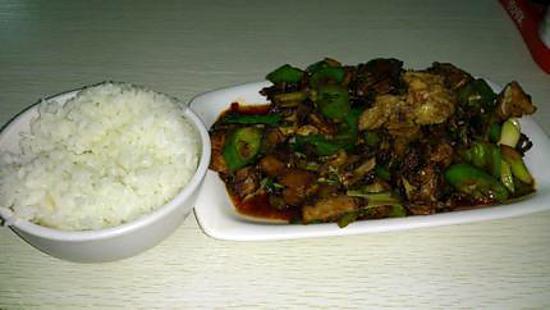 recette bouillon de poulet sauté au riz blanc