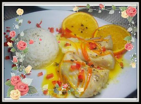 recette darnes de daurade au poivre timut et sauce au beurre d'orange