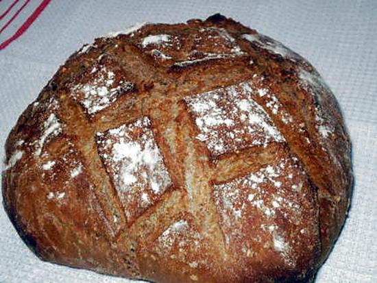 recette pain complet en cocotte
