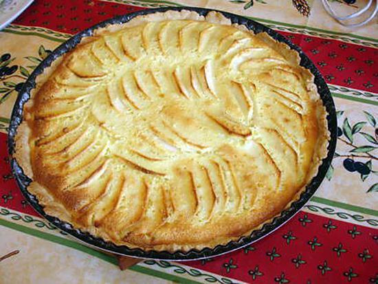 recette de tarte normande aux pommes par lyly59. Black Bedroom Furniture Sets. Home Design Ideas