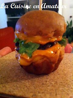 recette Minis burger avec une sauce Moutarde douce d'Alsace Alélor