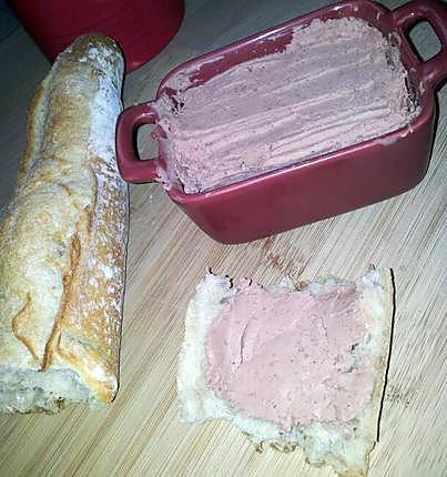 recette Paté de foie de volaille