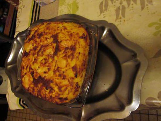 recette gratin purée épinards thon
