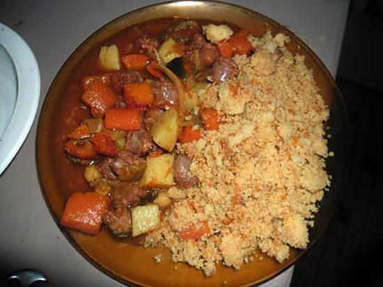 recette de couscous merguez top chrono. Black Bedroom Furniture Sets. Home Design Ideas