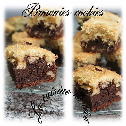 recette Brownies cookies