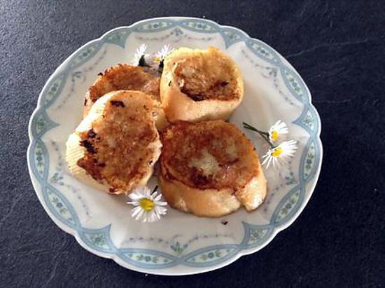 Recette de pain perdu au lait d 39 amande et vanille - Recette de pain au lait ...