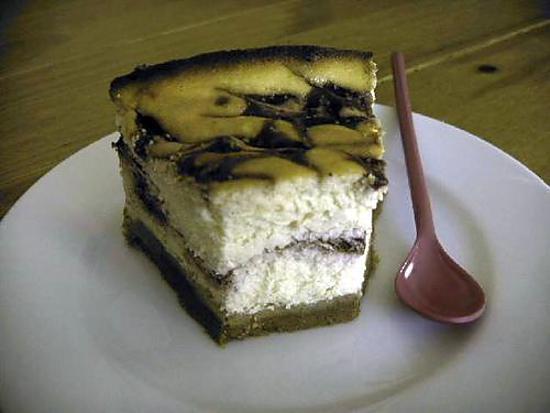 recette Cheesecake au citron en coulis de figues