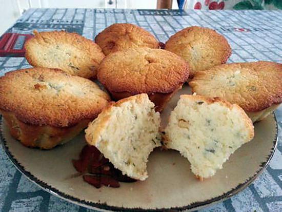 recette Muffins nuage de citron vert