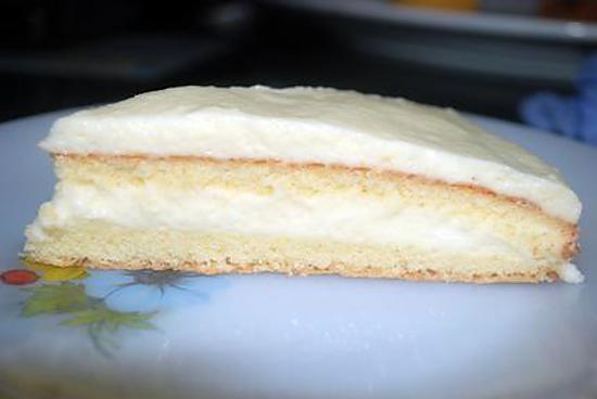 recette pain de Gênes et mousse aux citrons