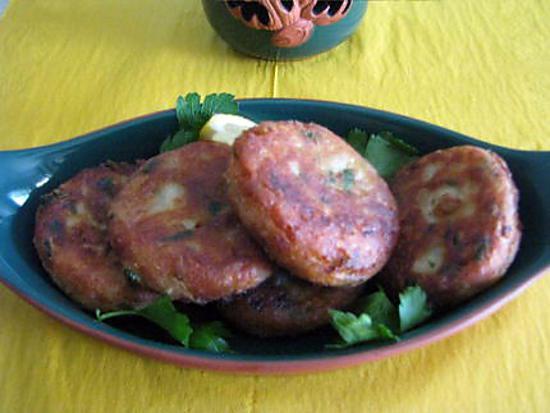 recette Maakouda au persil