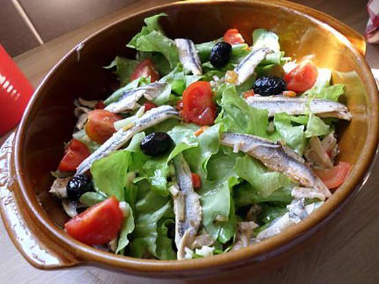 Recette de salade aux anchois olives et tomates cerise - Cuisiner les tomates sechees ...