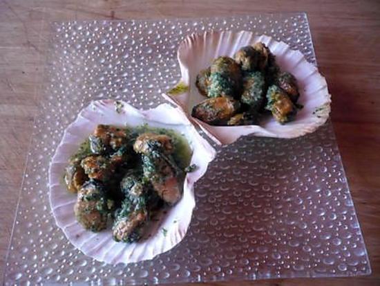 recette Moules farcies express