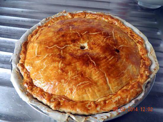 recette Tourte pomme de terre lardons