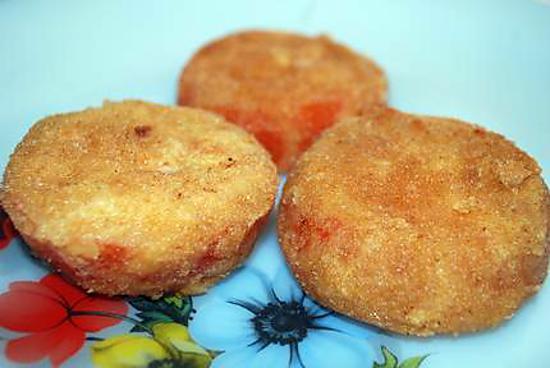 recette tomates panées