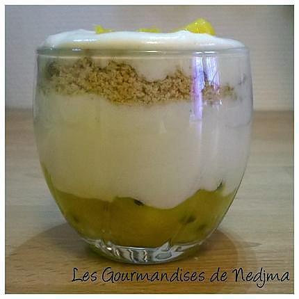 recette Tiramisu fruits de la passion et mangue