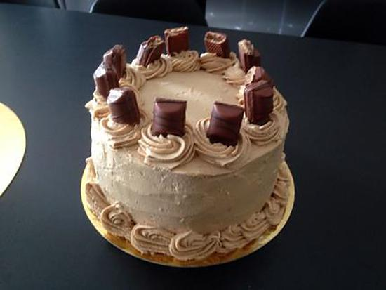 recette Layer cake mascarpone praliné