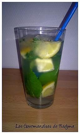 recette Cocktail au citron sans alcool
