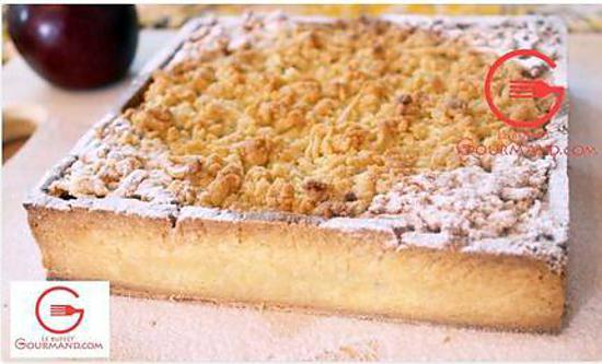 recette Tarte aux pommes et crumble