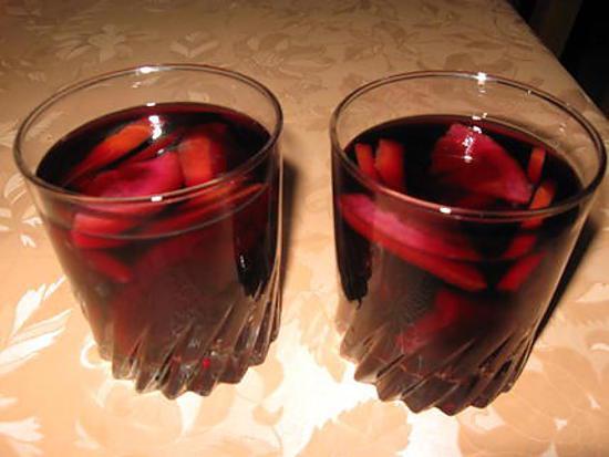 recette Sangria