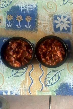recette Pudding de viennoiserie a l ananas!