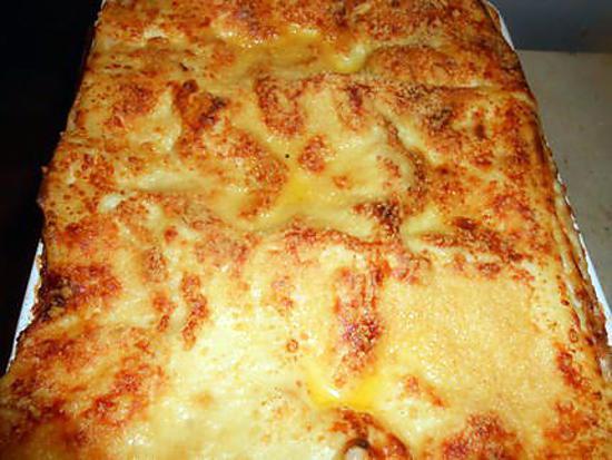 recette Lasagne au boeuf et courgette