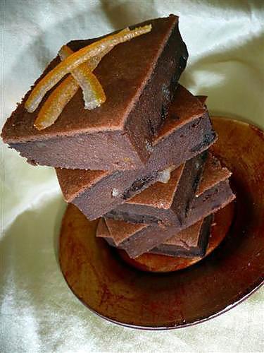 recette Pudding chocolat & orange