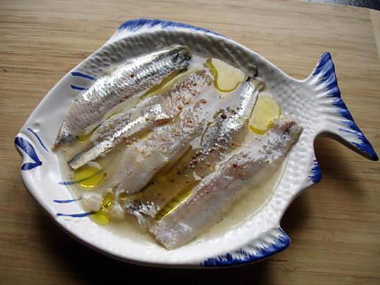 recette sardine mariné