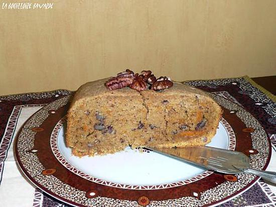recette cake à la patate douce et aux noix de pécan