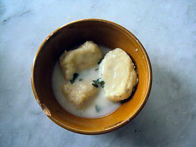 recette Gnocchis pommes de terre-chou fleur râpé