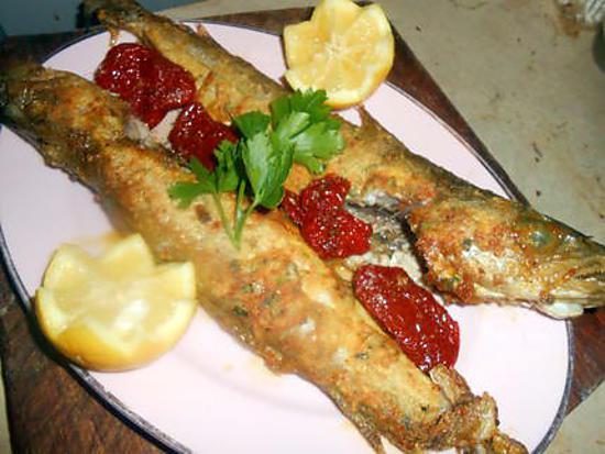 recette Merlan frit a la marocaine