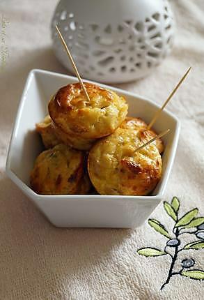 recette Bouchées au thon & fromage frais