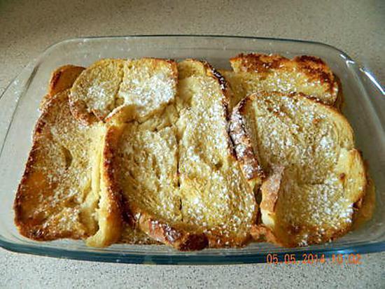 Gateau aux pain rassi