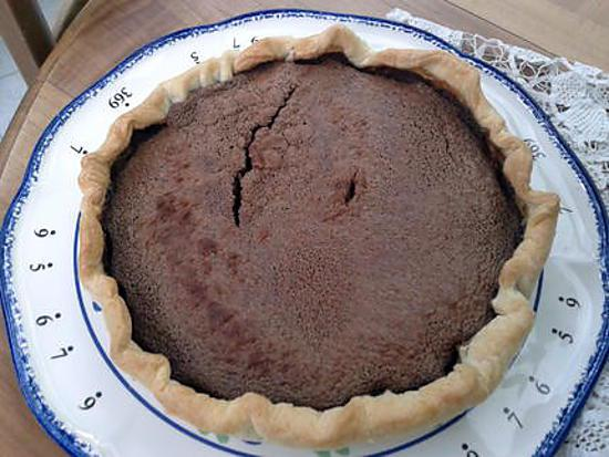 recette Tarte au chocolat praliné