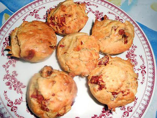 recette Petits cakes aux tomates séchées et romarin