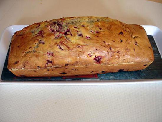 recette Cake moelleux aux framboises