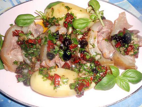 Que c'est bon  ! - Page 3 Tete-veau-avec-langue-vinaigrette-aux-tomates-sechees