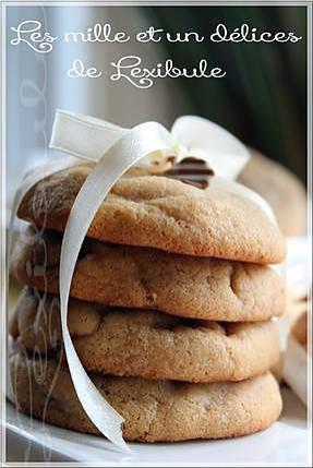 recette ~Biscuits au beurre d'arachide et aux pépites de chocolat à l'ancienne~