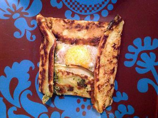 recette Crêpes jambon fromage