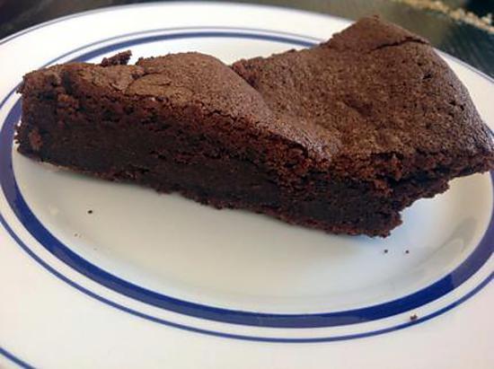 recette Fondant au chocolat nouvelle version