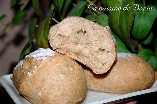 recette Petits pains au gruyère