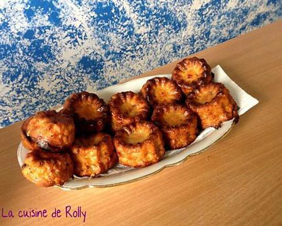 recette Cannelés salés lardons noisette