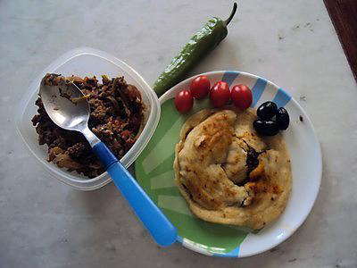 recette Galette libanaise fourrée à la viande